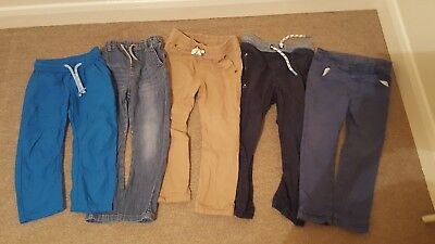 Boys trousers (×5) bundle 2-3 years Next, M&S, F&F