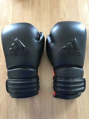 Adidas Power 300 Leather Boxing Gloves 14oz