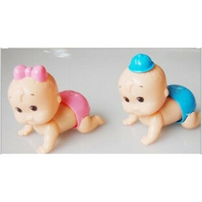 Clockwork Toy Crawling Baby Toy Newborn Baby Wind up Toy Safe UK