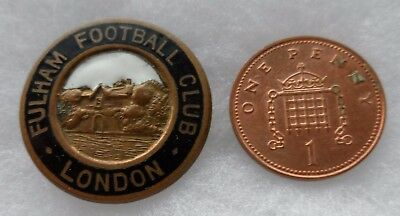 Fulham Football Club London Vintage Buttonhole Badge by Wylie