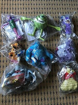 McDonalds Toys Monsters Inc