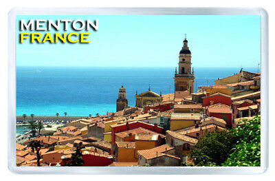 Menton France Mod3 Fridge Magnet Souvenir Iman Nevera