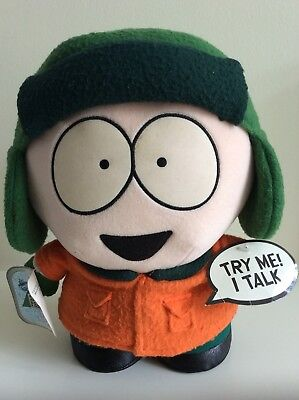 South Park Kyle 11 inch Plush Figure with 3 talking phrases.