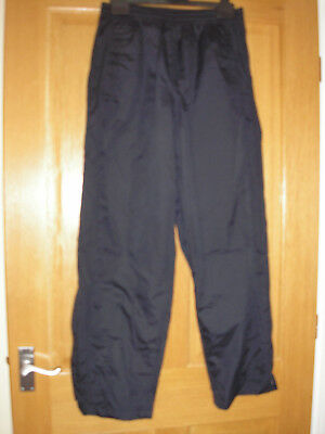 Ladies Peter Storm Warerproof Overtrousers Size 14 Navy Blue