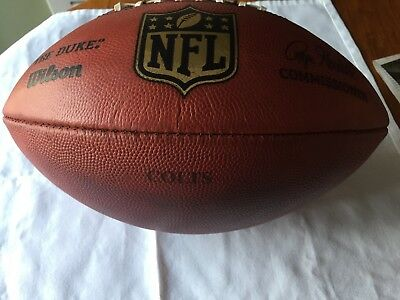 """Indianapolis Colts Game Used Nfl Football Official Football  """"the Duke"""""""