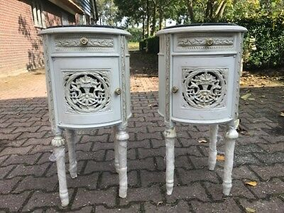 Two Antique Louis Xvi Night Stands