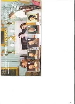 2012 Royal Mail Presentation Pack Kings & Queens House Of Windsor + M/s