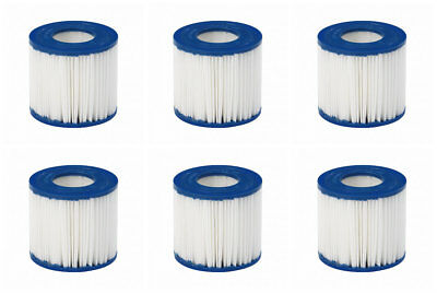 SIX Pack JILONG 3.1x 3.5-inch Size I Filter Cartridge Swimming Pool Hot Tub Spa