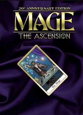 Mage The Ascension 20th Anniversary-Onyx Path Publishing Hardcover