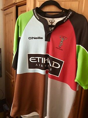 Harlequins FC rugby shirt size 2XL