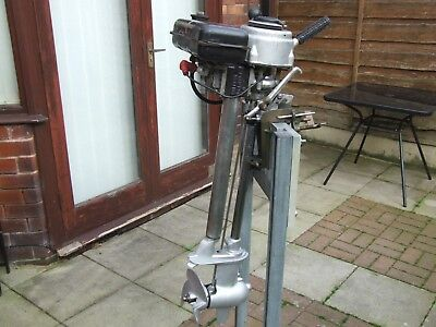 British Seagull Outboard Engine Series 55 Owned From New