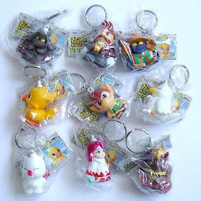 Banpresto Final Fantasy Figure Keychain set of 9