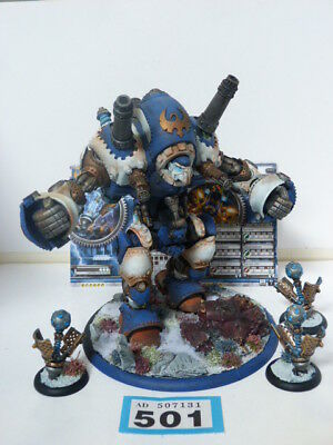 PRIVATEER PRESS WARMACHINE CYGNAR STORMWALL & STORM PODS x3 WELL PAINTED B501