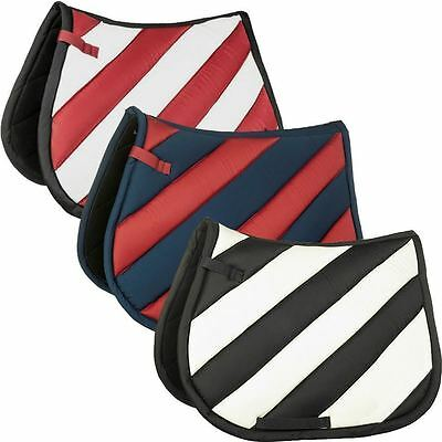 Equestrian Soft Quilted Saddle Pad 100% Cotton Extremely Comfortable