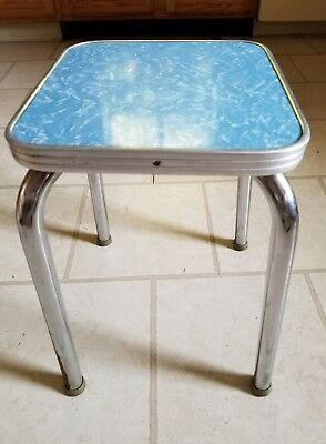 Vintage Formica Victor Products Corp. Laundrynet Table