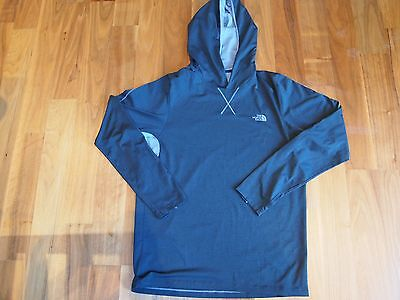The North Face Reactor Mens Hoodie Base Layer Grey Arcteryx Rab