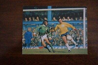 George Best signed postcard - Northern Ireland