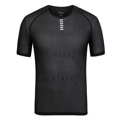 RAPHA PRO TEAM SHORT SLEEVE BASE LAYER (BLACK) BNWT Size L (NEW)