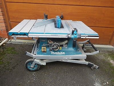 Makita MT100 table saw with stand