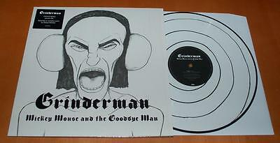 """Grinderman - Mickey Mouse & The Goodbye Man - 2011 UK 12"""" Picture Disc"""