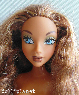 MADISON MY SCENE BARBIE DOLL Nude for play or OOAK blue eyes AA!
