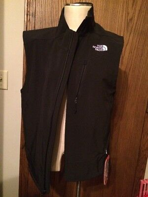$100 North Face Vest NWT Men's Medium Apex Shell Outdoor Black