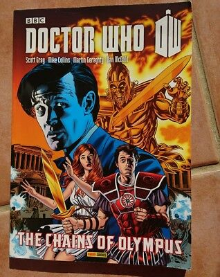Graphic Novel: DR WHO THE CHAINS OF OLYMPUS Sticks and Stones; Cornucopia Caper