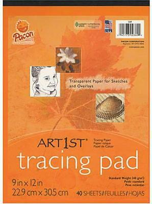 Pacon Art1st Tracing Paper Pads (9 In. x 12 In.)