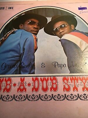 Rub A Dub Style Michigan and Smilie Studio One LP  VGC