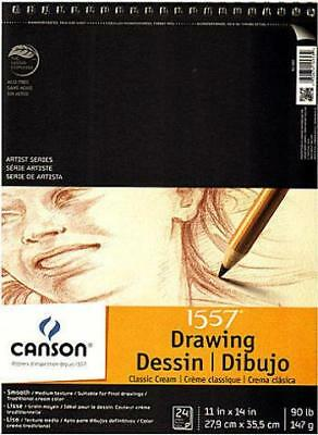 Canson Classic Cream Drawing Pad (11 In. x 14 In.)