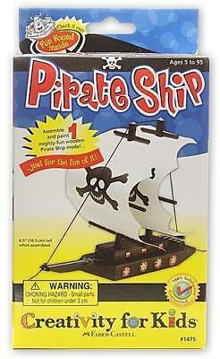 Creativity For Kids Pirate Ship Mini Kit