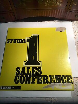Studio One Sales Conference - Sampler LP  EXC  but tiny defect....