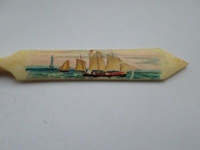Vinatge or vintage bovine Stanhope viewer dippy pen Falaise Normandy
