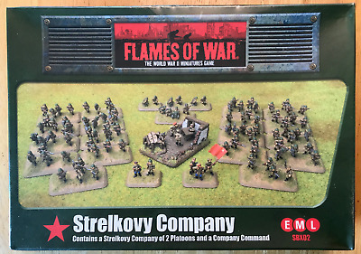 Flames of War SBX02 SOVIET STRELKOVY COMPANY(MINT) Retail $55.00 FREE SHIPPING!