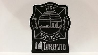 Toronto Fire Standard Issue ** Subdued Patch **