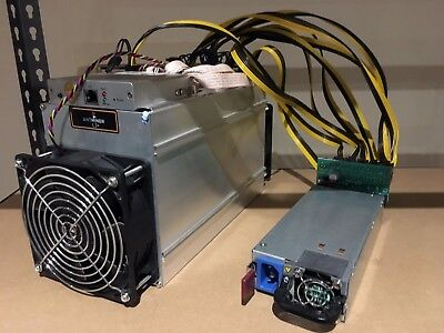 Bitmain Antminer L3+ Litecoin LTC Crypto Currency ASIC Miner + 1200W PSU