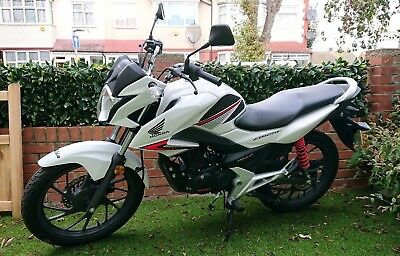 Honda CB125F, Low Mileage, Learner Legal, 17 reg
