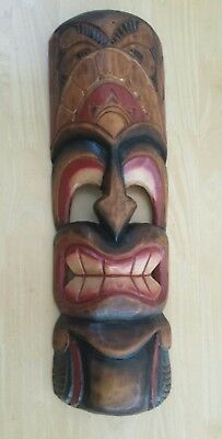 Wooden Mask. 49 cm tall