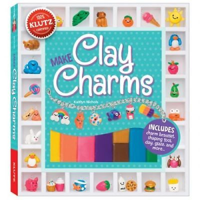 Make Clay Charms - Childrens Books by Klutz (549856)