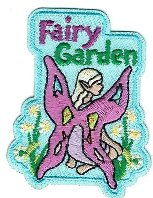 Boy Girl Cub FAIRY GARDEN house crafts Fun Patches Crests Badges GUIDE/SCOUT