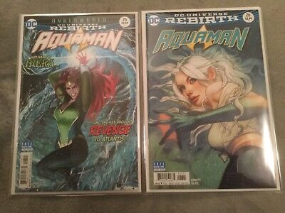 Aquaman #26 Rebirth Cover A & B NM DC