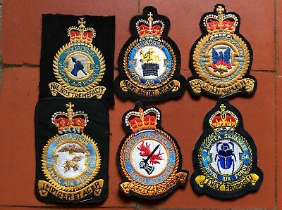 RAF Squadron Cloth Blazer Badges