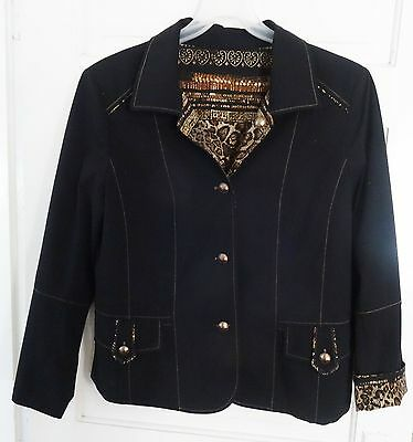 High Quality Reversible Artex Blazer Jacket - Size Large