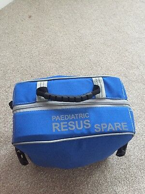 medical bag, pead resus pouch