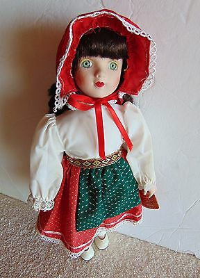 "Artisan 14"" Porcelain Girl Doll - Limited Edition"