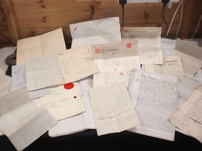 GROUP LOT OF 17 x DOCUMENTS (1700'S – 1934) A-GRADE