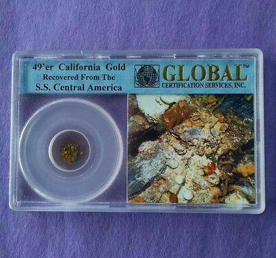 49'er California Gold Recovered From The  1857 Shipwreck of S.S Central America
