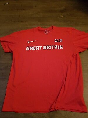 Team Gb T Shirt Size Medium