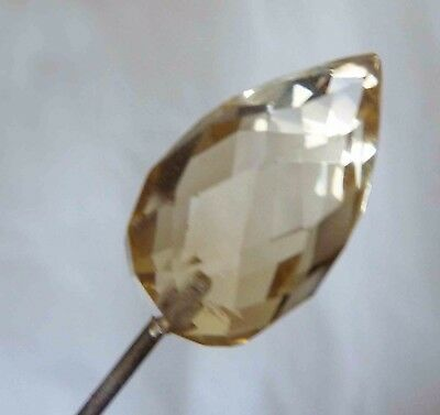 Vintage Glass Headed Hatpin