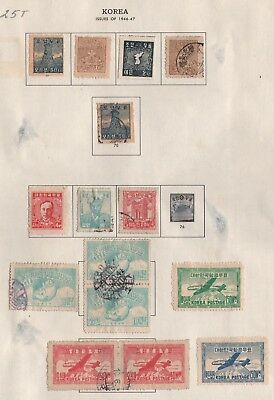 Korea Lot Of Stamps #25T